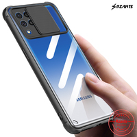Rzants-carcasa dura para Samsung Galaxy M62, F62, A12, M12, protección para lente
