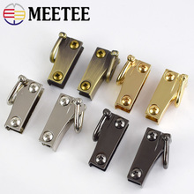 2 pairs High quality metal bag hanging hook buckle for Bag hardware accessories цена 2017