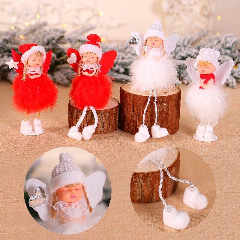 USA Christmas Angel Doll Toy Christmas Tree Pendants Ornaments Home Decoration A