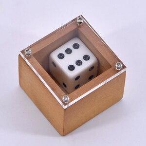 Магические трюки Badland Bob (дерево) крупным планом, Волшебная точка, изменение номера, магический ментализм, иллюзия, трюк, реквизит, Mystery Box Magica