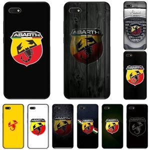Итальянский чехол с логотипом abarth для телефона Huawei NOVA 2 2i 2s 3i 4 4e 5 plus P10 lite 20 P20 pro honor10