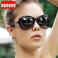 Женские большие солнцезащитные очки RBROVO, брендовые дизайнерские солнцезащитные очки в стиле ретро, роскошные винтажные очки
