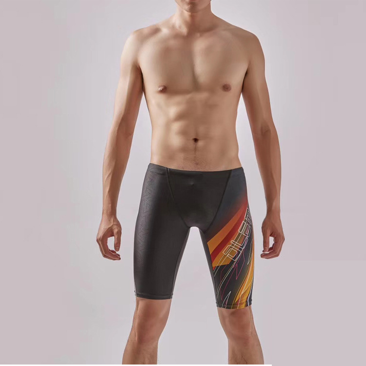 2019 New Style Boutique MEN'S Swimming Trunks Quick-Dry Waterproof Swimming Trunks Shorts Comfortable Free Anti-Awkward