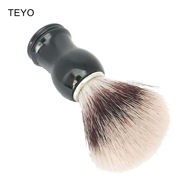 TEYO Synthetic Shaving Brush Perfect For Wet Shave Beard Brush
