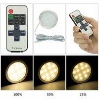 Minifoco LED empotrado para techo, luz de techo de automóvil, camping, accesorios de coche, foco redondo interior, caravana, barco, armario, 12V, 6 uds.