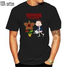 Camiseta plantas estranhas querem regar camisa masculina verão funk preto camiseta gráfico roupas de topo xxl tshirt coisa engraçada