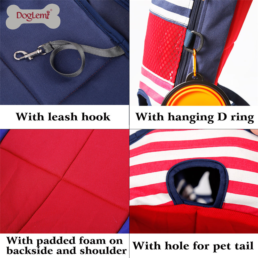 Dog Outdoor Carrier Tote Bag Pet Dog Cat Carrier Backpack Front Chest Portable Bags Sling Holder Mesh Cat Puppy Dog Carrier in Dog Carriers from Home Garden