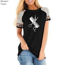 Размера плюс женские футболки женская одежда футболка в полоску