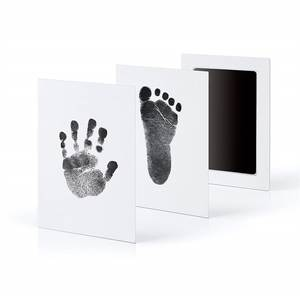 Stamp-Pad Photo-Frame Hand-Foot Baby Nontoxic-Touch Prints Infant Newborn DIY Ink