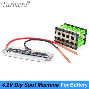 DIY точечный сварочный аппарат Mechine 4,2 V 12V для 18650 26650 32700 пайки батареи 0,15 мм и пайки батарей + Сварочная ручка Turmera