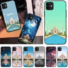 Viviana Taj Mahal Newly Arrived Black Cell Phone Case For iPhone 5C 6 6S 7 8 plus X XS XR XS MAX 11 11 pro 11 Pro Max offeier cute hippo newly arrived black cell phone case for iphone 5c 6 6s 7 8 plus x xs xr xs max 11 11 pro 11 pro max