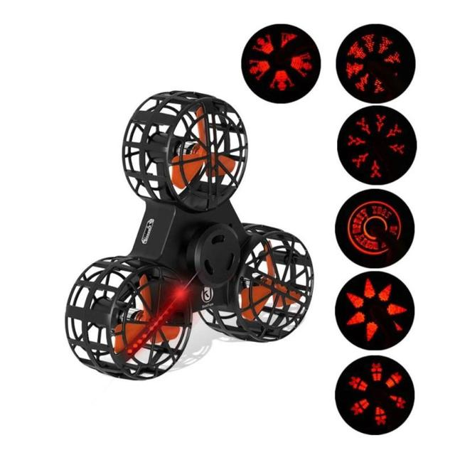 LeadingStar Mini Fidget Spinner Hand Flying Spinning Top Autism Anxiety Stress Release Toy Great Funny Gift Toys For Children
