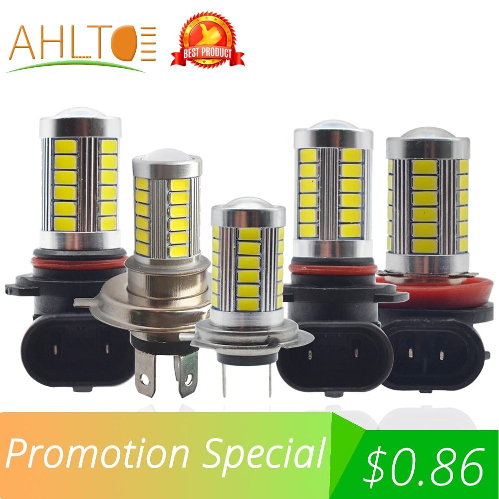 9006 HB4 9005 HB3 H4 H7 H11 H8 1156 5630 5730 33SMD Headlight Fog Lamp Daytime Running Light Turning Braking Bulb White DC 12V