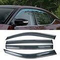 Для NISSAN MAXIMA A36 2016-2019 окна автомобиля Защита от солнца дождь козырьки щиток Shelter Защитная крышка отделка рамка наклейка аксессуары