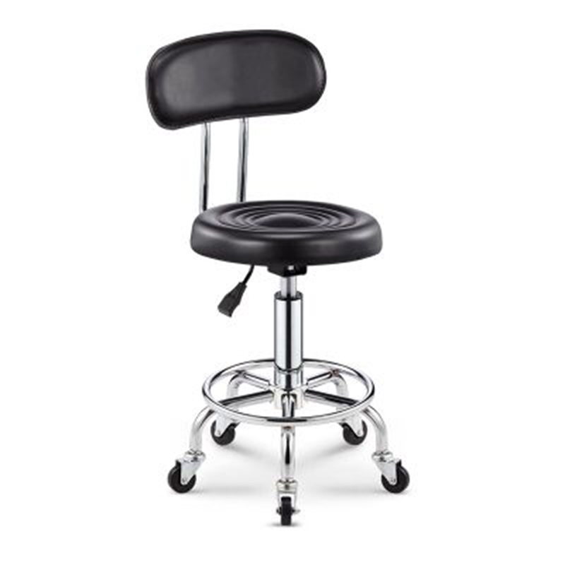Adjustable Barber Chairs Hydraulic Rolling Swivel Stool Chair Salon Spa Bar Cafe Tattoo Facial Massage Salon Furniture