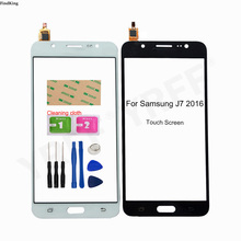 Touch Screen For Samsung Galaxy J7 2016 J710F J710FN Touch Screen Front Panel Glass Lens Outer Glass Replacement Part