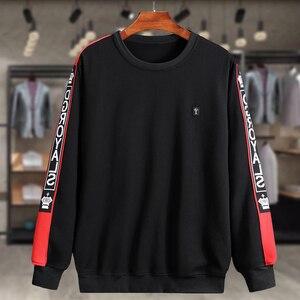Image 2 - Eşofman erkekler artı boyutu 6XL 7XL 8XL 9XL 2 parça eşofman giysileri erkek spor takımları seti kazak ceket Mens ter parça takım elbise