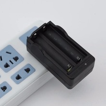 цена на 18650 Battery Charger Double Charging Ports Black EU Plug Travel Charger Quick Charge Compatible Phone Charger