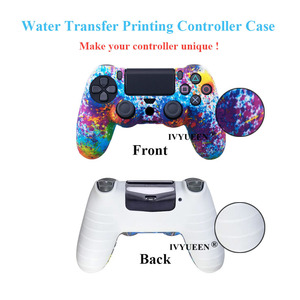 Image 5 - Ivyueen 25 Kleuren Voor Sony Playstation 4 PS4 Pro Slim Controller Siliconen Beschermende Huid Gevallen Duimgrepen Joystick Caps Cover