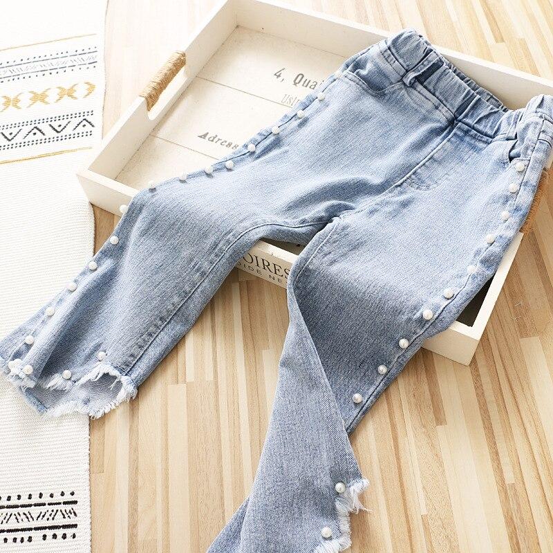 Megadescuento Pantalones Vaqueros De Moda Para Nina Pantalones Con Cuentas Primavera 2021 February 2021