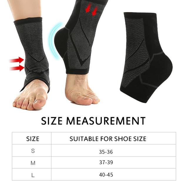 1 шт. спортивный бандаж на лодыжку, поддерживающий компрессионный ремень для сухожилия, эластичная повязка, спортивная одежда, повязка на ногу, спортивные аксессуары для безопасности, Новинка