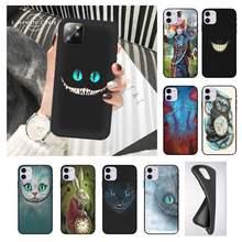 Alice In Wonderland Cat Phone Cases Case For Xiaomi Redmi 5 6 6a S2 4x Go 7 7a 8 8a K20 9 K30 9a Pro Plus