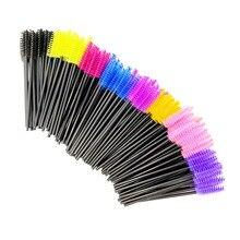 2500PCS Disposable Eyelash Brushes Eyelashes Extension Tools Eyebrow Brush Mascara Wands Applicator Spoolers Eye Lashes Cosmetic