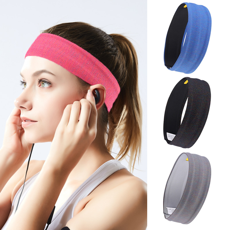 Hot Absorbent Yoga Sport Sweat Headband Men Sweatband For Men And Women Yoga Hair Bands Head Sweat Bands Sports Safety