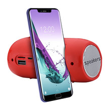 Bluetooth Speaker Portable Outdoor Sport Loudspeaker Wireless Mini Stereo Sound Bar TF FM Radio Subwoofer Column Speakers
