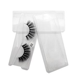 Image 5 - 20/30/40/50/100 pairs allingrosso ciglia di visone naturale lunga handmade 3d ciglia estensione del ciglio di trucco faux cils in massa