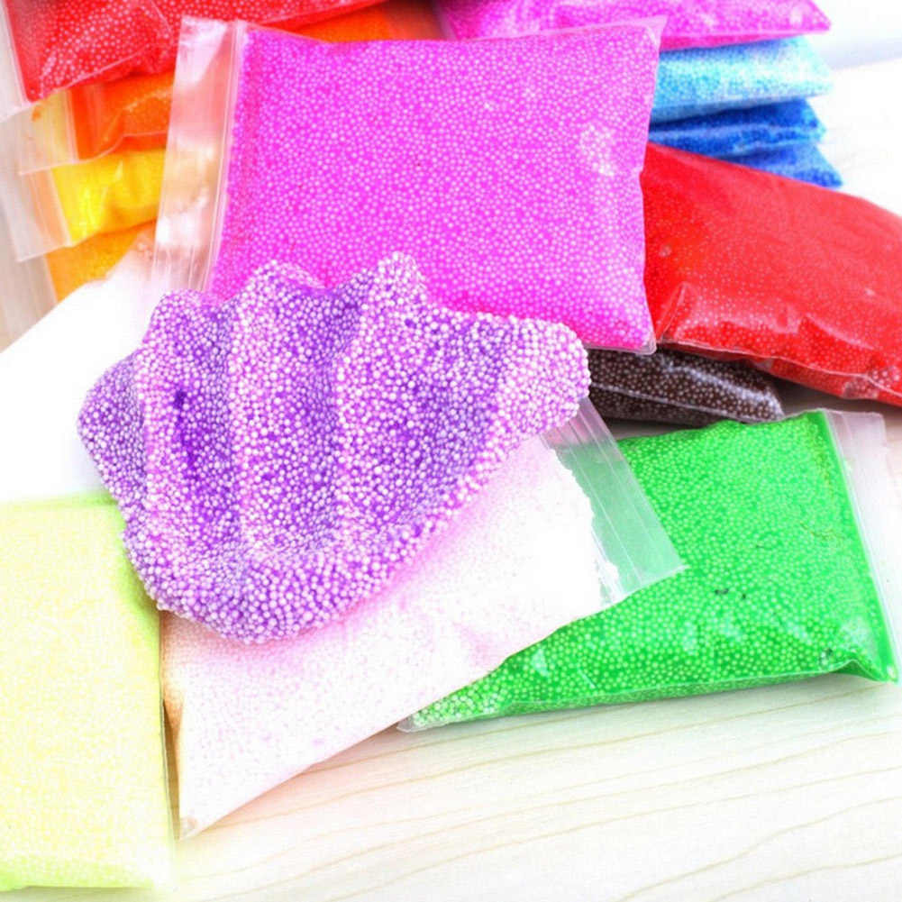 20g حلوى لون الثلج الطين رقيق رغوة الوحل الطين DIY بها بنفسك الحرفية لعبة مضحك سلامة هدية الإجهاد الإغاثة الاطفال الطين لعبة
