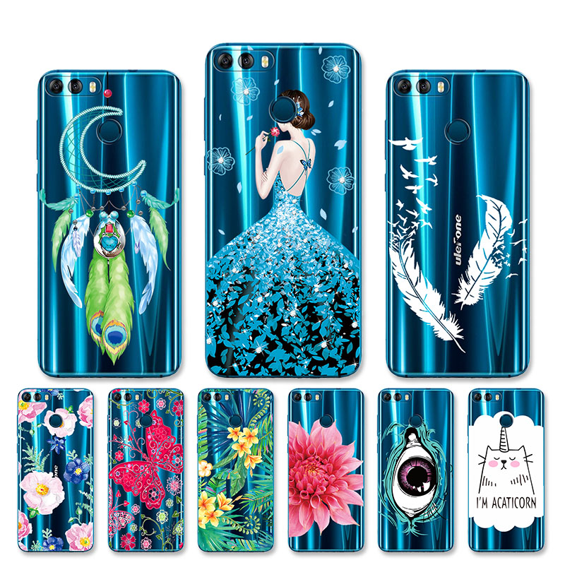 TPU Soft Cases For Ulefone Power 3S Cases Silicone Back Transparent Cover For Ulefone Power Mix 2 S7 Gemini Pro Case Coque