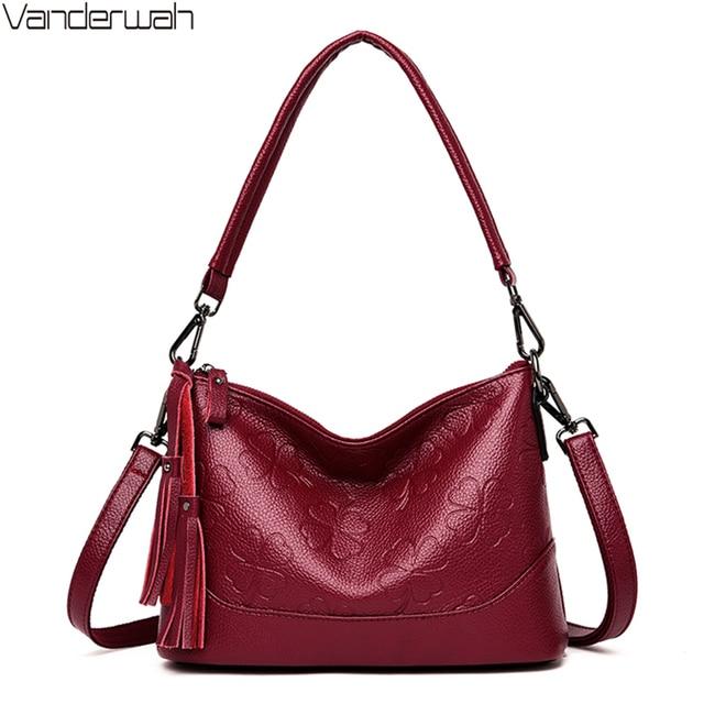 Fashion Printing Ladies Shoulder Bag Luxury Handbags Designer Elegant Tassel Bags for Women High Quality Purses and Handbags Sac