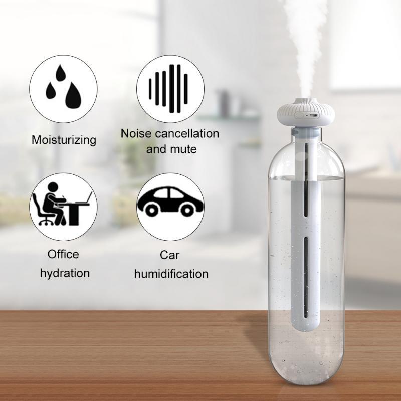 Donut Mini Humidifier Portable Usb Mineral Water Air Spray Car Household Large Spray Humidifier(China)