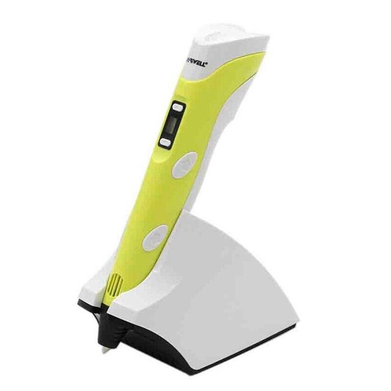 Myriwell 3D stylo sans fil charge Portable 3D stylo magique quatrième génération 3.7V 1500MAH enfants cadeaux intelligents prise ue