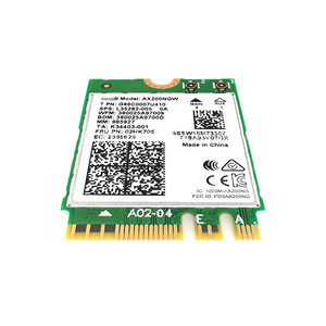Image 4 - WIFI6 Draadloze NGFF M2 Card 160MHz 2.4Gbps Voor Intel 2974Mbps 802.11AX/802.11AC AX200NGW2400M MU MIMO Bluetooth 5.0