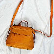 Женская кожаная сумка aetoo Универсальная Портативная мессенджер