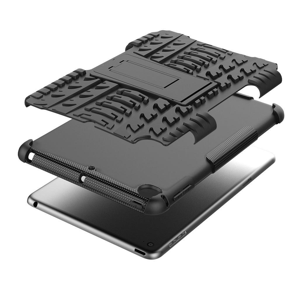 Купить с кэшбэком Defender Stand TPU PC Shockproof Protective Silicone Plastic Armor iPad mini 5 4 Case For iPad 2019 A2133 A2124 A2125 A2126