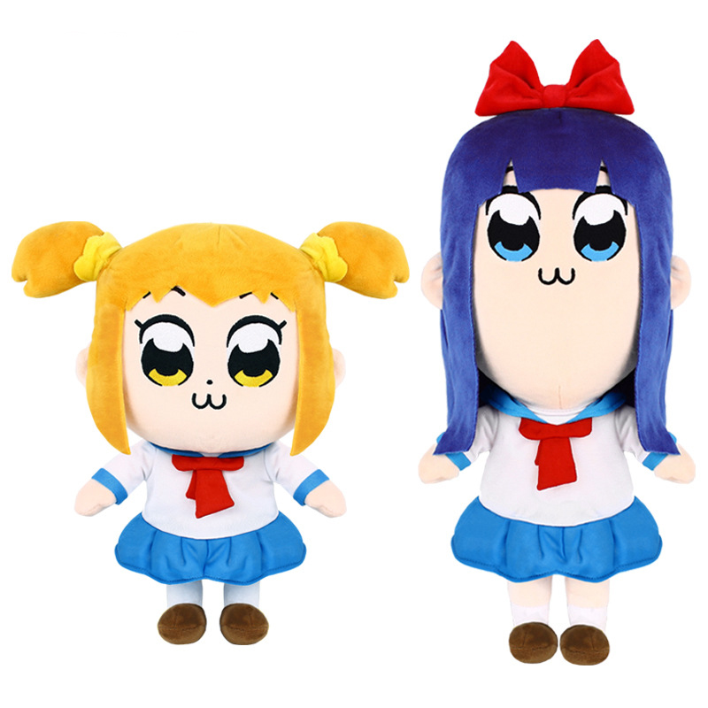 Black Cat Stuffed Animal, Funny Anime Pop Team Epic Popuko Pipimi Plush Stuffed Toys Lovely Pop Team Epic Plush Dolls Gifts For Kids Girls Movies Tv Aliexpress