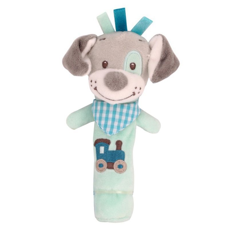 Baby Lathe Hanging Ring Animal Rattle Crib Hanging Baby Stroller Hanging Toys Teethers Stuffed Doll Festival Gift Kids