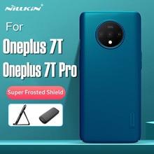 NILLKIN – coque arrière pour Oneplus 7T Pro, étui Ultra-mince, bouclier givré mat rigide avec emballage de détail