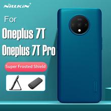 NILLKIN bardzo smukła obudowa dla Oneplus 7T matowa osłona matowy sztywne etui dla Oneplus 7T Pro tylna obudowa z pakietem detalicznym tanie tanio CN (pochodzenie) Aneks Skrzynki Frosted Shield 6 55inch6 67 Odporna na brud For Oneplus 7T 7T Pro Super Frosted Shield phone shell