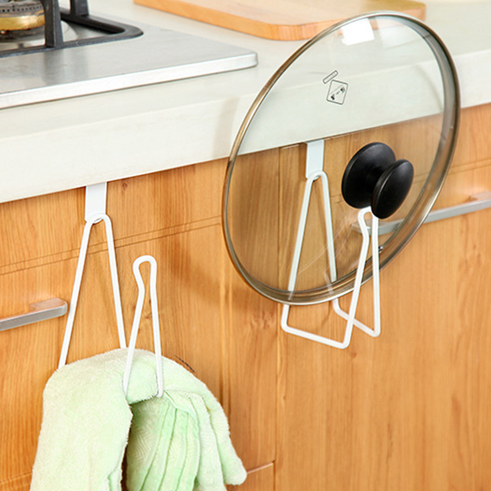 Toilet Bathroom Door Back Iron Wall Mount Roll Raper Towel Rack Hanging Holder Tissue Cover Storage Box Accessory