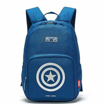 UME Marvel Captain America Large capacity primary school bag super light backpack boy for boys age 6-14 years for teenage kids