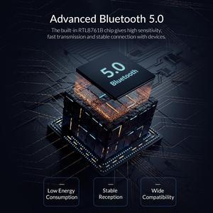 ORICO мини беспроводной USB Bluetooth адаптер 4,0 5,0 Bluetooth аудио приемник передатчик aptx для ПК динамик мышь ноутбук