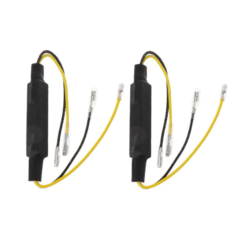 Motorcycle Load Resistors Led Turn Signal Led Flasher Turn Signal Indicator Resistor Adaptor Led Resistor 12V Universal Led Resi