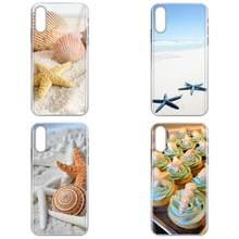 Пляж Морская звезда Прохладный в виде ракушки на берегу моря для Huawei Честь 4C 5A 5C 5X 6 6A 6X 7 7A 7C 7X 8 8C 8S 9 10 10i 20 20i Lite рro(China)