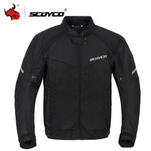 SCOYCO Summer Men Motorcycle Jacket Motocross Off-Road Jacket