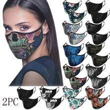 Adulto ciclismo correndo reutilização masque lavable rosto maks halloween cosplay máscara para germe proteger mascherine mascarillas cachecol