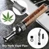 Spiral Orbit Pipe New Design Smoking Pipe DIY Tobacco Pipes Mini Twisty Metal Tip Smoking Tool With Cleaning Brush Smokers Gifts